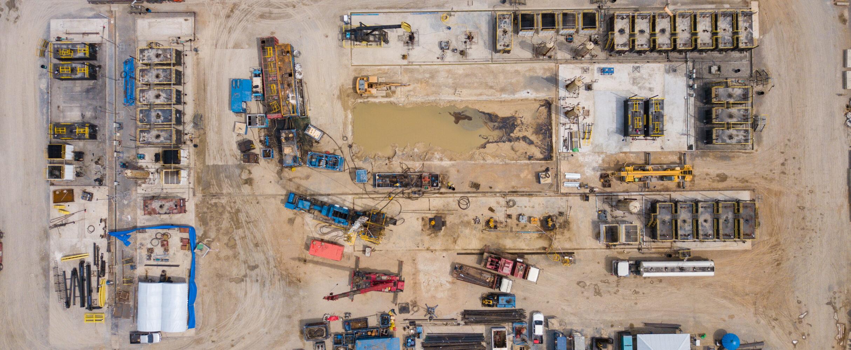 Large Onshore Gas Plant Reconfiguration Project image